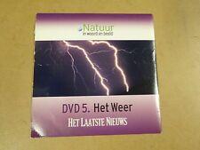 DVD HET LAATSTE NIEUWS / NATUUR IN WOORD EN BEELD - DVD 5 - HET WEER