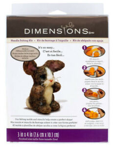 Bunny Needle Felt Kit By Dimensions *FREE POSTAGE*