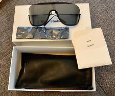 ACNE STUDIOS Damen Sonnenbrille Brille Verspiegelt Glas Braun Steg Np 299 Neu