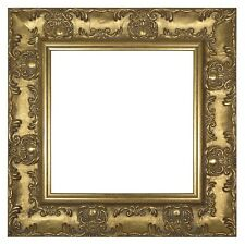 WIDE Ornate Shabby Chic Antique swept Picture photo frame Distressed Muse