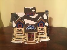"Dept 56 Snow Village Series ""Birch Run Ski Chalet"" 1996"