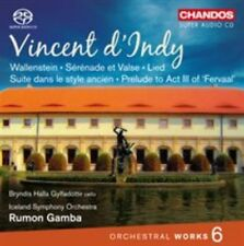 D'indy Iceland Symphony Orchestra GAMBA - Orchestral Works 6 SACD