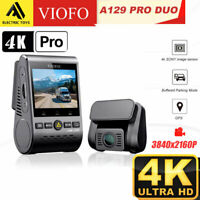 VIOFO A129 Pro Duo Ultra 4K Dashcam Dual Channel, WI-FI & Bluetooth Dash Camera