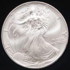 1995 American Silver Eagle ASE  BU in Deluxe Case