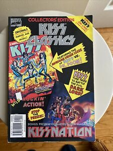 KISS COLLECTOR'S EDITION CLASSICS MARVEL MUSIC PREVIEW KISS NATION  HARD TO FIND