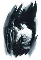 Alex Ross SIGNED Batman Scars Giclee on Canvas Limited Edition AP or PP of 25