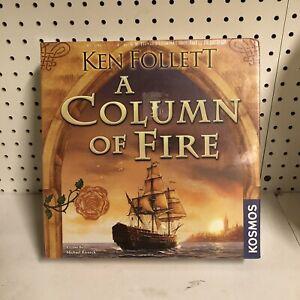A Column of Fire Board Game Ken Follett Kosmos Strategy Board Game THK692650