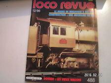 **c Loco revue n°488 Fulgurex 141-R en N / Wagons en O / Une Halle en O
