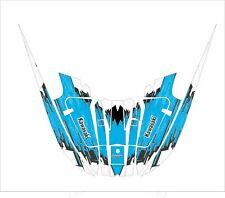 kawasaki 650 x2 x2  jet ski wrap graphics pwc decals decal kit 1985 1995 blue 1