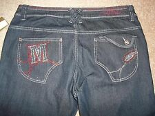 Mecca Femme Jeans Tag Size 13/14 Denim 34X33 1/2 New with Tags