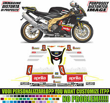 kit adesivi stickers compatibili rsv 1000 chesterfield