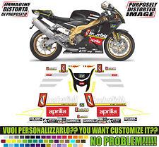 kit adesivi stickers compatibili rsv 1000 chesterfield