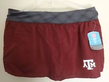 NWT Texas A&M Aggies Girls Large Skort Short/Skirt Majestic Sect 101