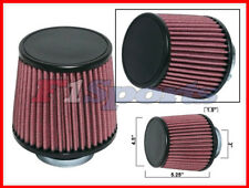 "3"" INLET UNIVERSAL RED RACING CONE AIR INTAKE FILTER"