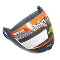 New Scratch Resistant Steel Bird Helmet SBA-2 Air Visor Black Colour