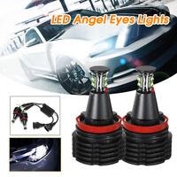 H8 LED Angel Eyes 80W Lampadine Per BMW E60 E61 E71 E70 E82 E92 X5 X6 Z4 LD1624