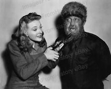 8x10 Print Lon Chaney Evelyn Ankers Wolfman 1941 #LCWM