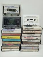 Lot of 20 Hymns Southern Gospel, Worship & Praise Songs Music Cassette Tapes