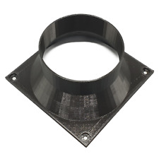 Dayun Zig Z1 140mm Fan Shroud Silencer to 4 Inch / 100mm Vent Duct Pipe Adapter