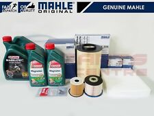 FOR FORD KUGA 2.0 TDCi 163BHP SERVICE KIT MAHLE OIL AIR POLLEN CABIN FUEL FILTER