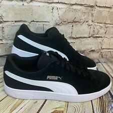 Puma Mens Black Suede Classic Lows Sneakers Size 10.5