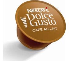 50 x Nescafe Dolce Gusto CAFÉ AU LAIT Coffee pods . 50 serving .