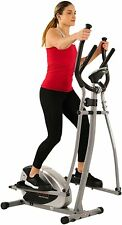 Sunny Health & Fitness SF-E905 Elliptical Machine Cross Trainer with 8 Level