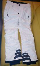 Women's Peak Performance White Ski Pants, L