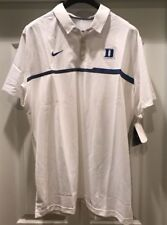 Nike Duke Blue Devils Coaches Elite Sideline Performance Polo NWT XL