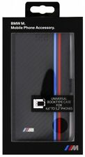 """BMW M Universal Booktype case for 4.6"""" to 5.2"""" phones /rotating/ Black"""