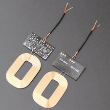 Wireless Charger Receiver Module PCBA Board Coil Universal Qi DIY