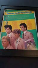 The Romantics Strictly Personal Tour Rare Original Promo Poster Ad Framed!