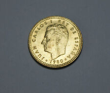 1 PTA Peseta Spain Spanien ESPANA 1980 Juan Carlos Münze Coin