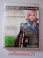 Final Fantasy Lightning Returns Limited Edition Playstation 3 NEU PS3