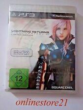 Final Fantasy Lightning Returns Limited Edition PlayStation 3 nuevo ps3