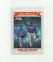 1991 Score Nolan Ryan 300th Career Victories Baseball Card #417 HOF