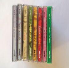 CD Top Hits (Lot 8) 8 CD's