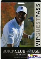TIGER WOODS 2007 Buick Invitational VIP Guest Pass Torrey Pines-TIGER WOODS Won!