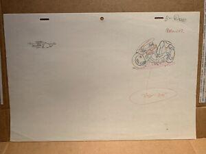 Akira Anime Douga Animation Art Drawing For Cel