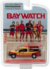 Greenlight Baywatch 2016 Ford F-150 Emerald Bay Beach Patrol Lifeguard 1/64