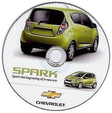 CHEVR0LET Spark (2009-2012) manuale officina workshop manual