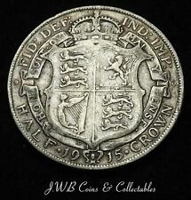 1915 George V .925 Silver Halfcrown Coin - Great Britain,