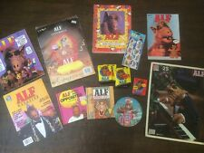 Alf Vintage Memorabilia Lot 1987 Topps Cards Centerpiece Magazine Comics