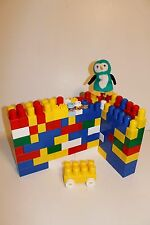 118 pc Mega Blok Set Multi Colors, Sizes, Standard Set Incl. Car, Faces, Penguin