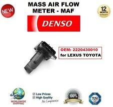 DENSO MAF MASS AIR FLOW METER SENSOR OEM: 2220430010 for LEXUS TOYOTA OE QUALITY