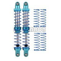 Shock Absorber with spring 90mm / 100mm Blue For 1/10 RC TRX-4 Wraith SCX10 D90