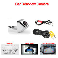 Car Rear View Backup Reverse Parking License Plate Screw 170° Wide Angle Camera