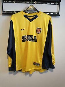 Arsenal Sega Away 1999-2000 Long Sleeve Xl