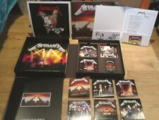 Metallica Master Of Puppets Deluxe Box Set Vinyl/CDs/Book/Prints New & Sealed
