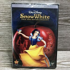 Snow White and the Seven Dwarfs (DVD 2009, 2-Disc Set, Deluxe Edition) Fast Ship